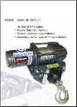 2500# Winch Kit (SKU: AM1920mount)