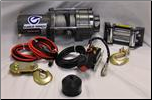 "66"" Standard ATV Eagle Plow Kit  W/ 3500lb WINCH"